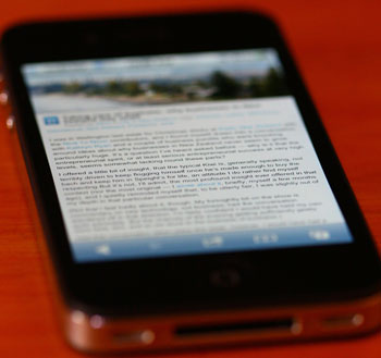 The iPhone 4S review | Steve's TechBlog