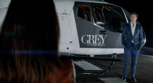 Christian Grey's chopper — my, it's a big one. (Fifty Shades of Grey)